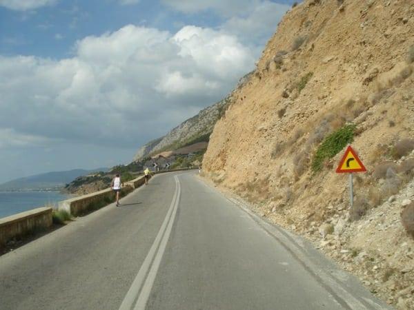 Spartathlon road