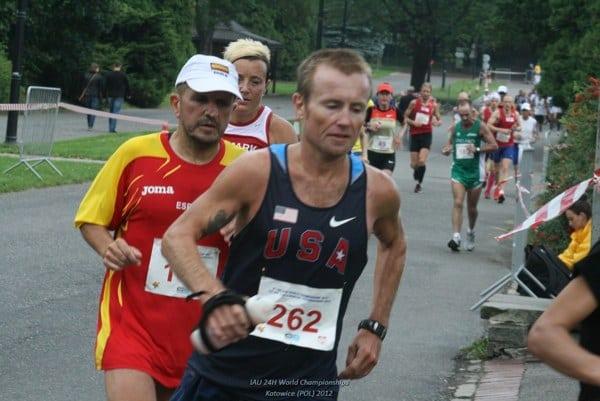 Mike Morton - 24 Hour American Record