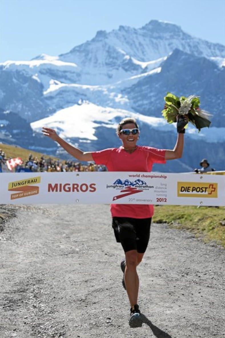 Stevie Kremer - 2012 Jungfrau Marathon