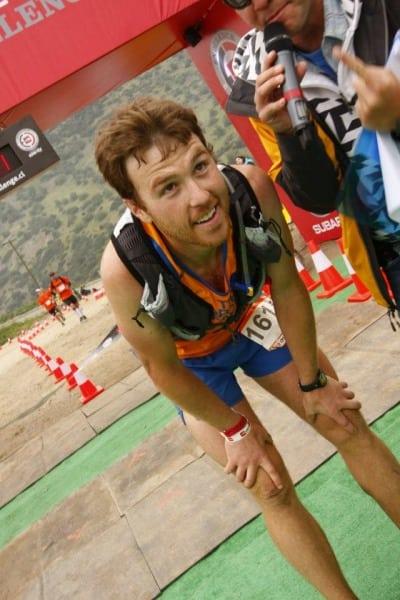 TNF EC Chile - Mike Foote - Finish