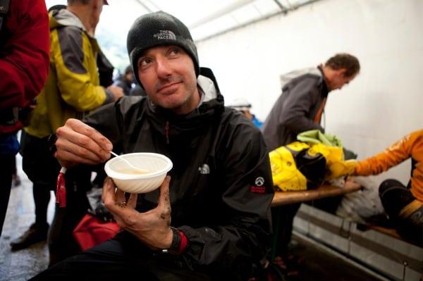 Warren Pole - 2012 UTMB soup