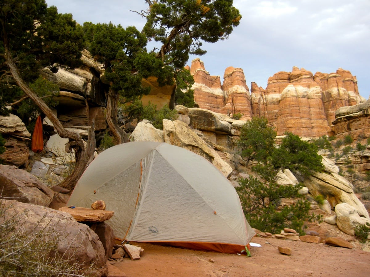 Camping Needles District Canyonlands