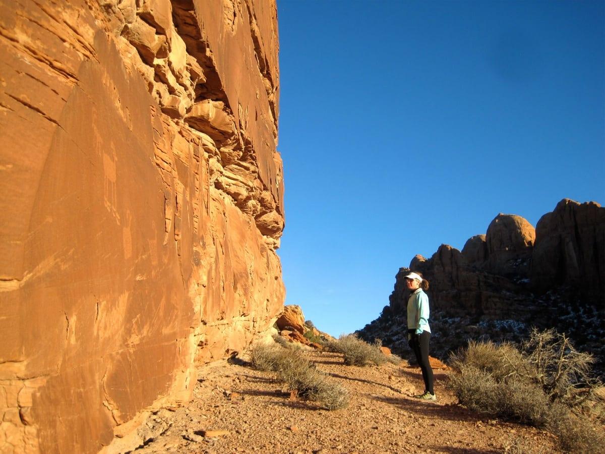Hidden Valley Trail petroglyphs