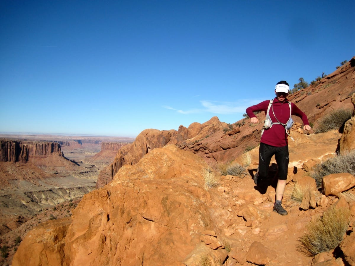 Syncline Trail - Canyonlands - trail run