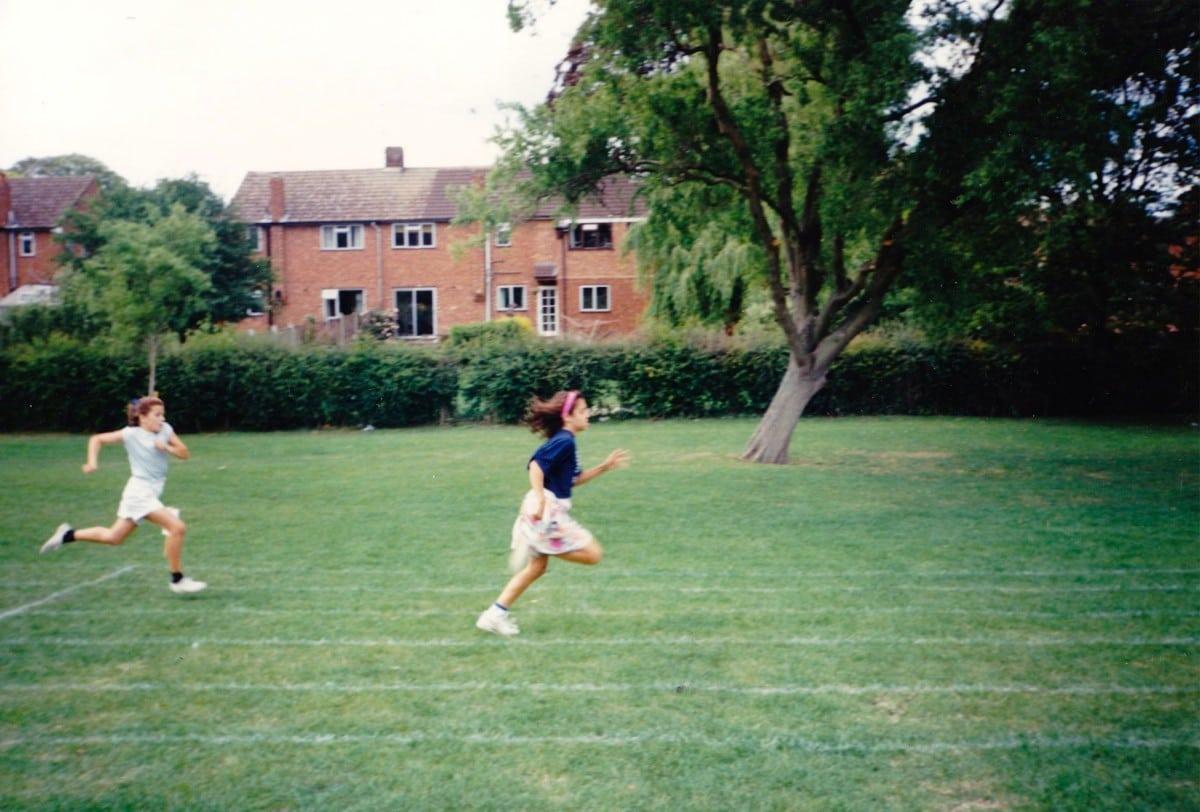 Ellie Greenwood - childhood running