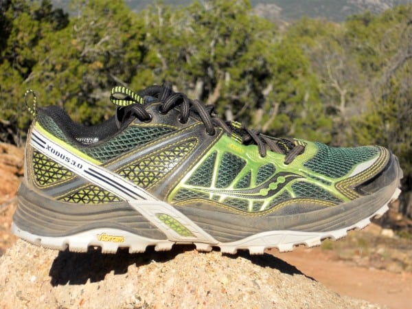 Saucony Xodus 3.0 - lateral upper