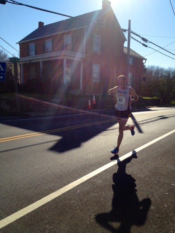 Trent Briney - 2012 JFK 50 - mile 46