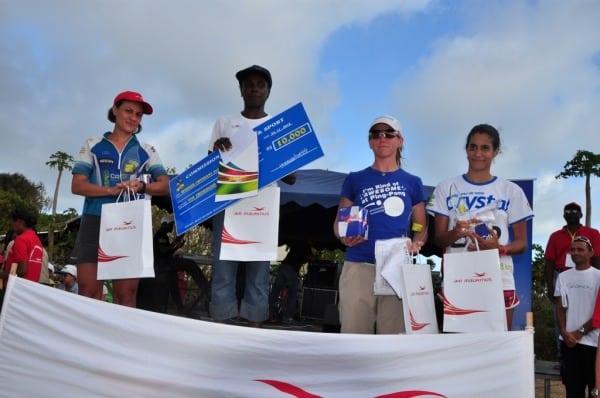 2012 Trail de Rodrigues - top 4 women
