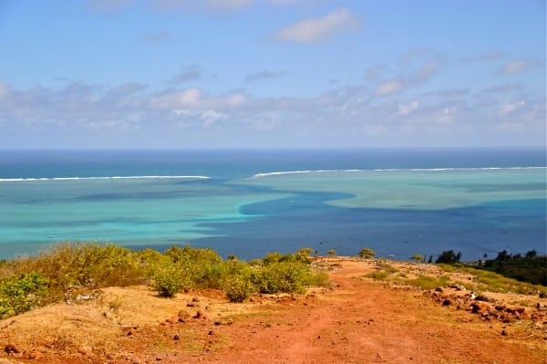 Trail de Rodrigues - scenery
