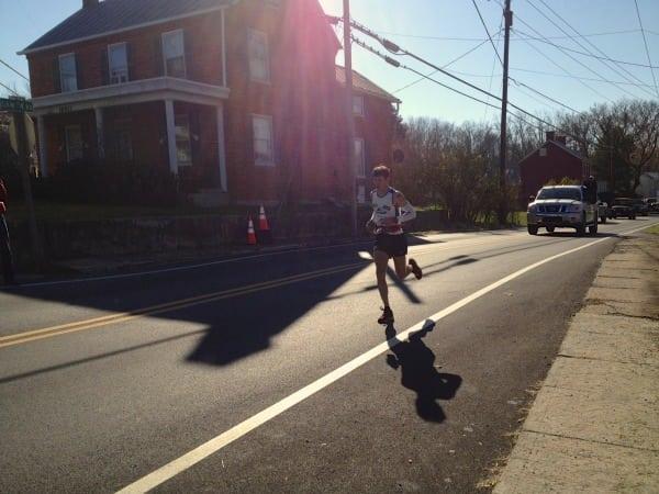 Max King - Mile 46 - 2012 JFK 50 mile