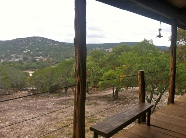 Typical Hill Country scenery at Camp Eagle.