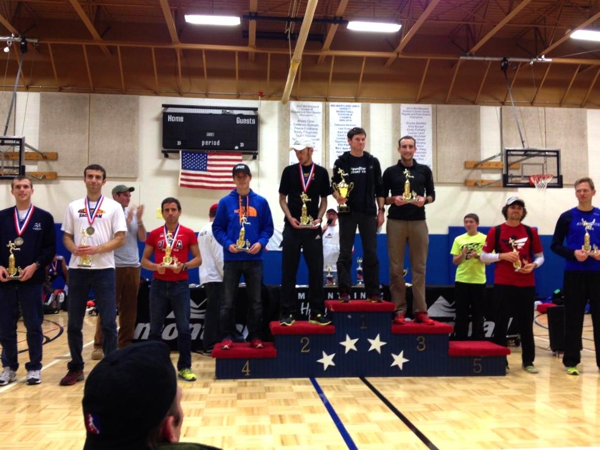 2012 JFK 50 Mile Mens podium