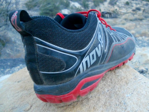 Inov-8 Trailroc 255 - heel and lateral upper