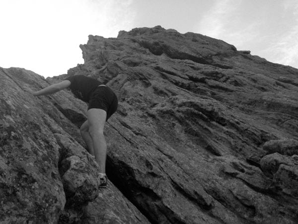 Dakota Jones - First Flatiron - Boulder