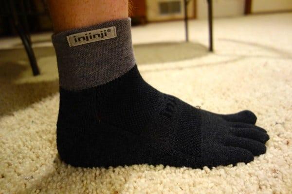 Injinji Performance 2.0 Trail Socks - side