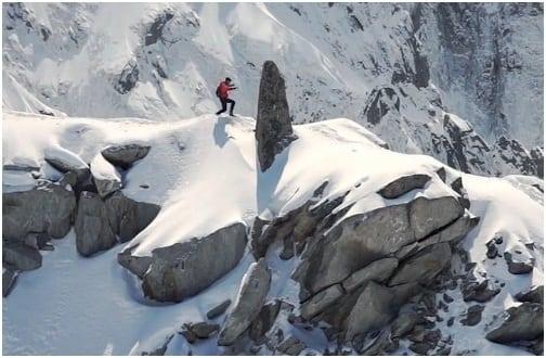 Kilian Jornet - A Fine Line - ridge run