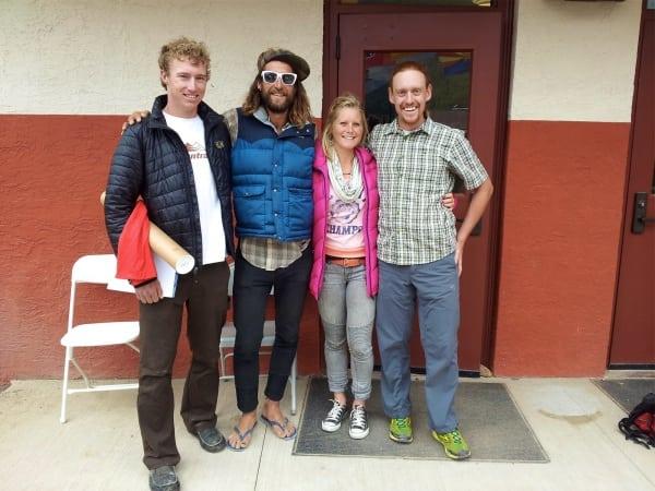 Hardrock 100 2012 - Dakota Jones - Anton Krupicka - Anna Frost - Bryon Powell