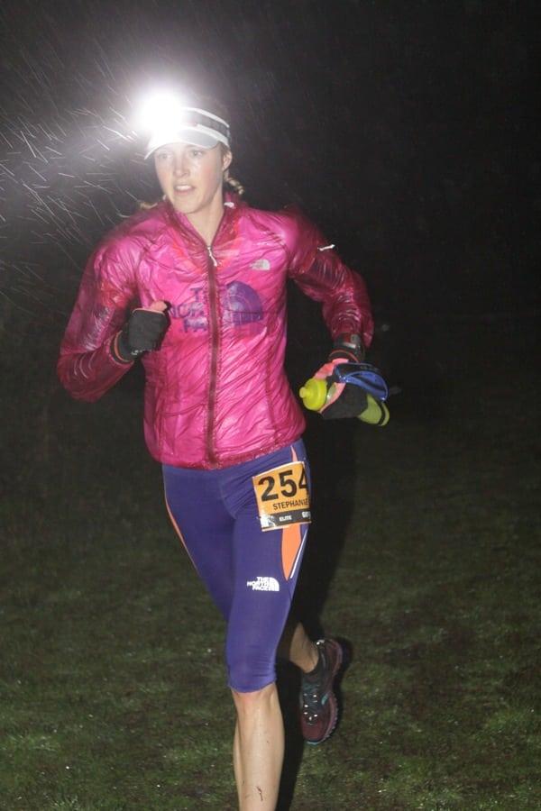 Stephanie Howe - 2012 TNF 50 mile - darkness
