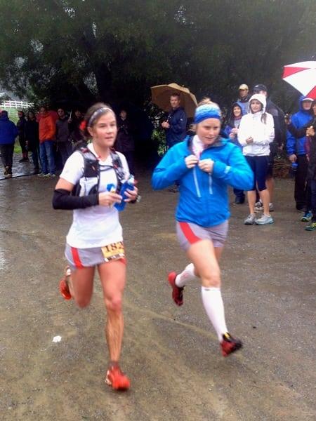 Emelie Forsberg - 2012 TNF EC 50 mile - Anna Frost mud