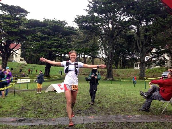 Emelie Forsberg - 2012 TNF EC 50 mile win