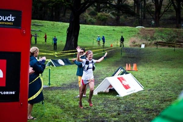 Emelie Forsberg - 2012 TNF 50 win