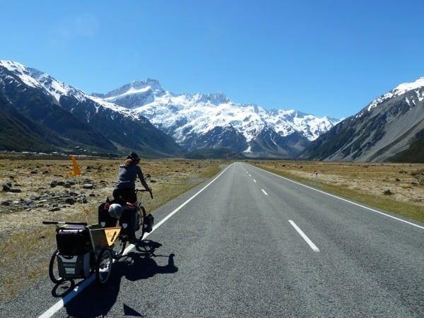 New Zealand - bike touring