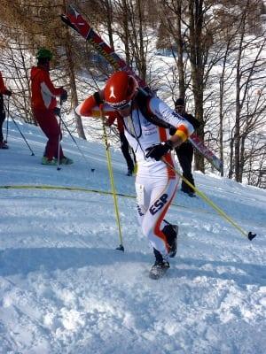 Kilian Jornet - Mens Sprint Race 2011 Skimo World Championships