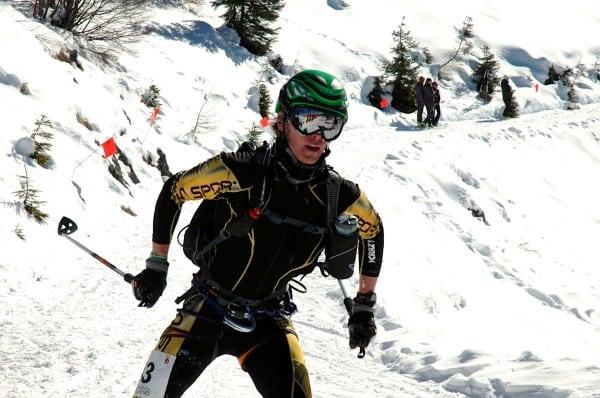 Luke Nelson Men's Individual Race - 2011 Skimo World Championships