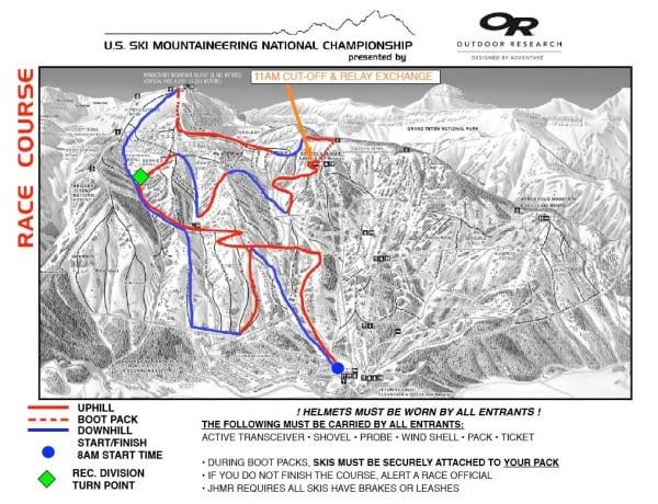 US Skimo National Championship course
