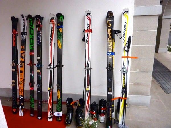 US Team skis - 2011 Ski Mountaineering World Championships