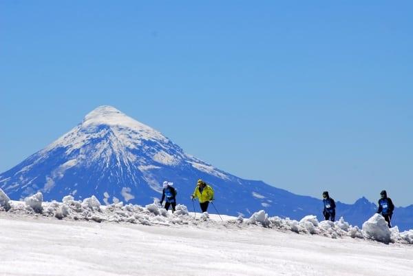 Mocho Choshuenco Volcano - El Cruce 2012