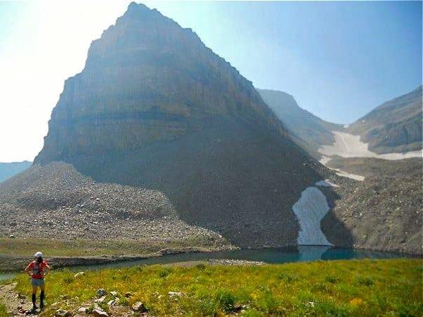 trail running - Emerald Lake - Mount Timpanogos