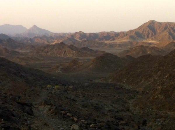 Showka - UAE trail running