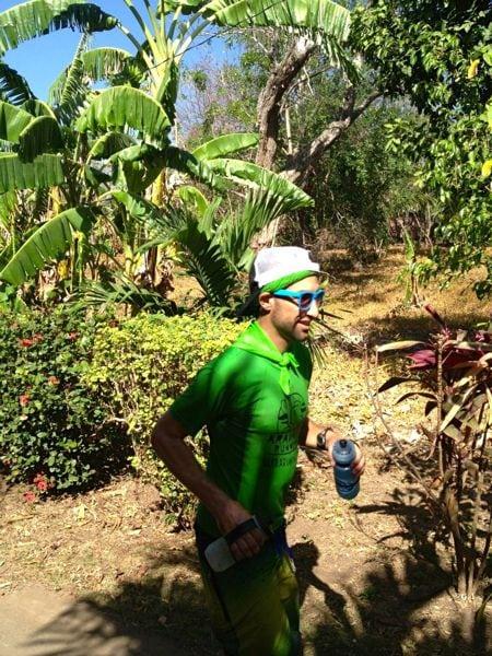 2013 Fuego y Agua - Nick Coury mid-race