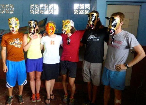2013 Fuego y Agua - Winner's masks