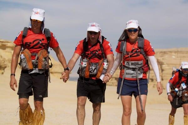 Roger Hanney, Greg Donovan, and Jess Baker - Sahara Desert