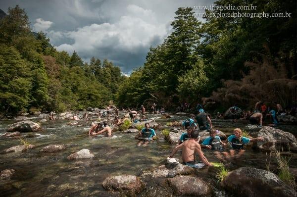 2013 El Cruce - big shower