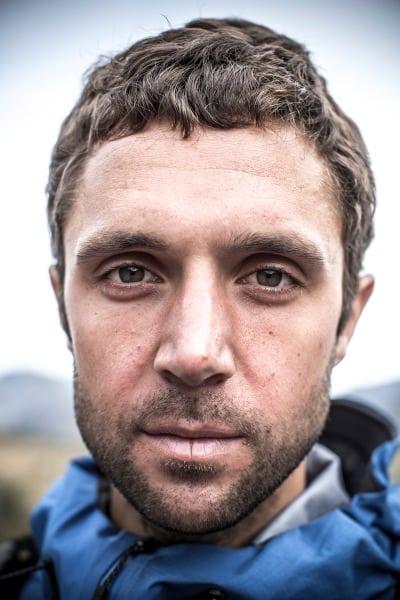 Jez Bragg portrait - Te Araroa Trail expedition