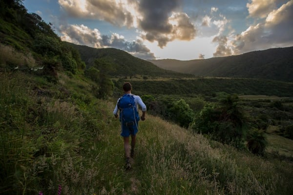 Jez Bragg fastpacking - Te Araroa Trail expedition