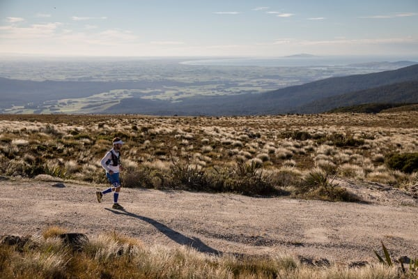 Jez Bragg and Bluff New Zealand in view - Te Araroa Trail expedition