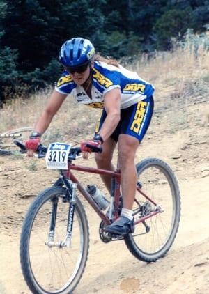 Beverley Anderson-Abbs - 1994 NORBA mountain bike