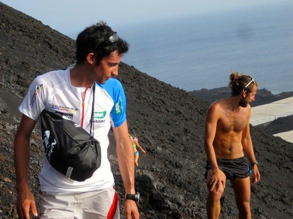 Kilian Jornet - Anton Krupicka - La Palma 2012
