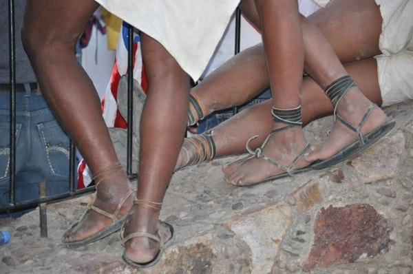 Raramuri feet