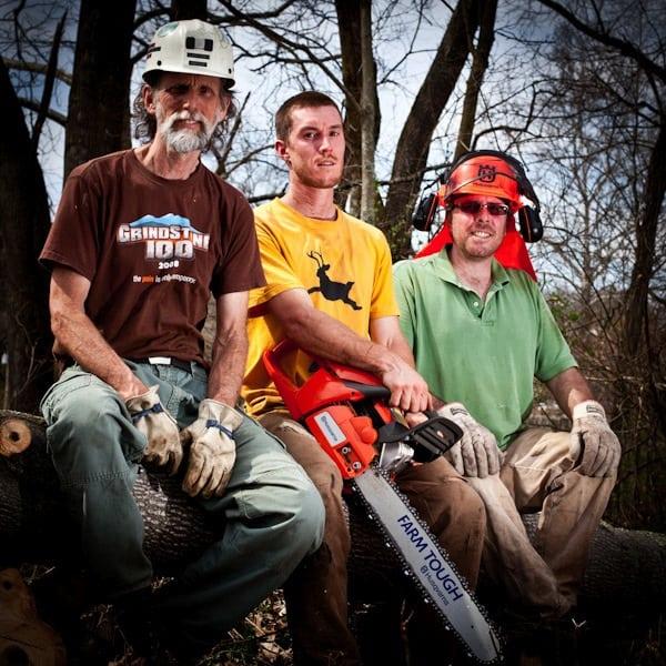 Joel Wolpert - WV trail work