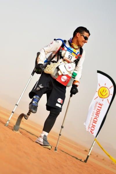 2013 Marathon des Sables - Stage 4 - Mohamed Lahna