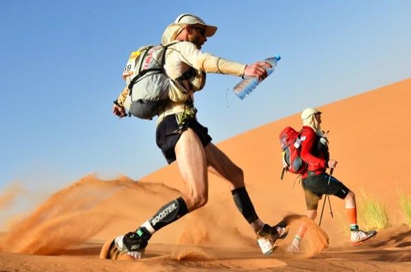 2013 Marathon des Sables - Stage 4 - dune field