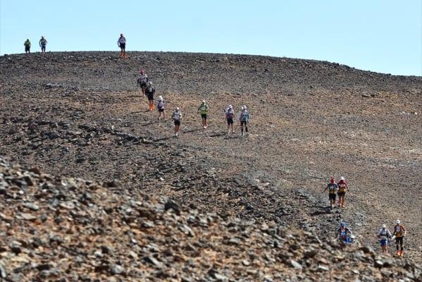 2013 Marathon des Sables - Samir Akhdar