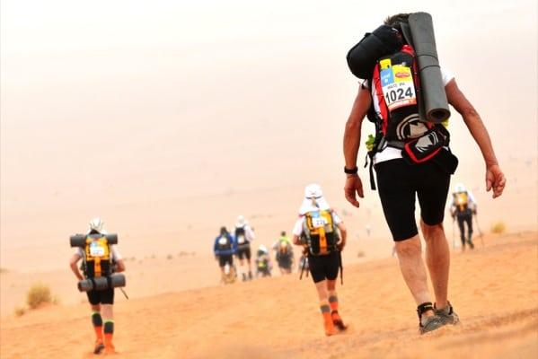 2013 Marathon des Sables - Katharine Heffer