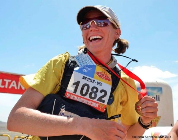 2013 Marathon des Sables - Meghan Hicks - Finish