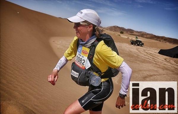 Meghan Hicks - 2013 Marathon des Sables - dune